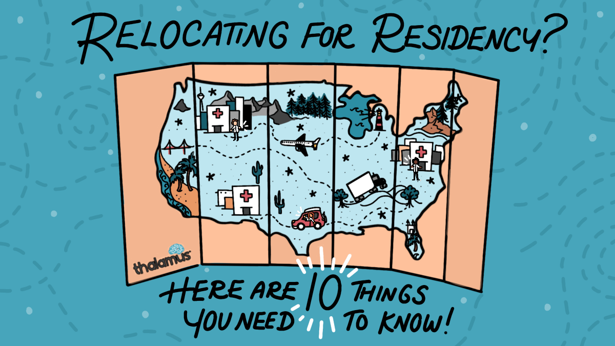 Relocating for Residency Map