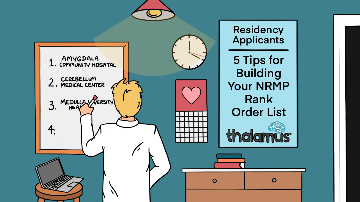 NRMP Rank Order List. Rank Order Lists. ROLs. ROL. Tips for Building your NRMP Rank Order List. An illustration of a residency applicant making his rank order list.